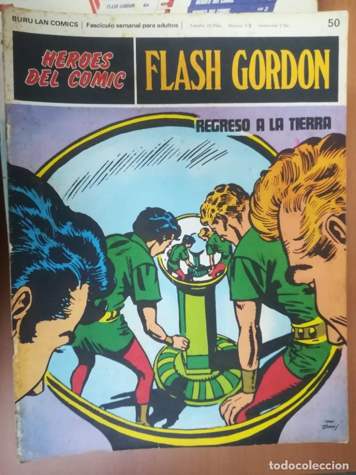 Cómics: FLASH GORDON. BURULAN. GRAN LOTE DE 104 FASCÍCULOS. - Foto 43 - 287605043
