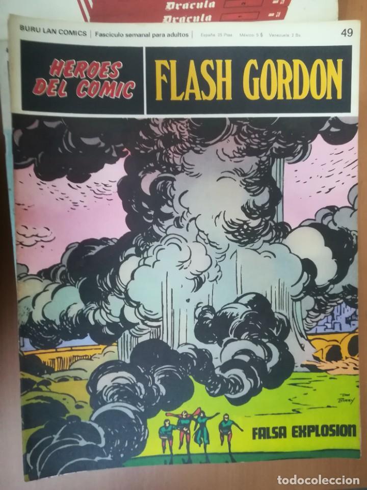 Cómics: FLASH GORDON. BURULAN. GRAN LOTE DE 104 FASCÍCULOS. - Foto 44 - 287605043