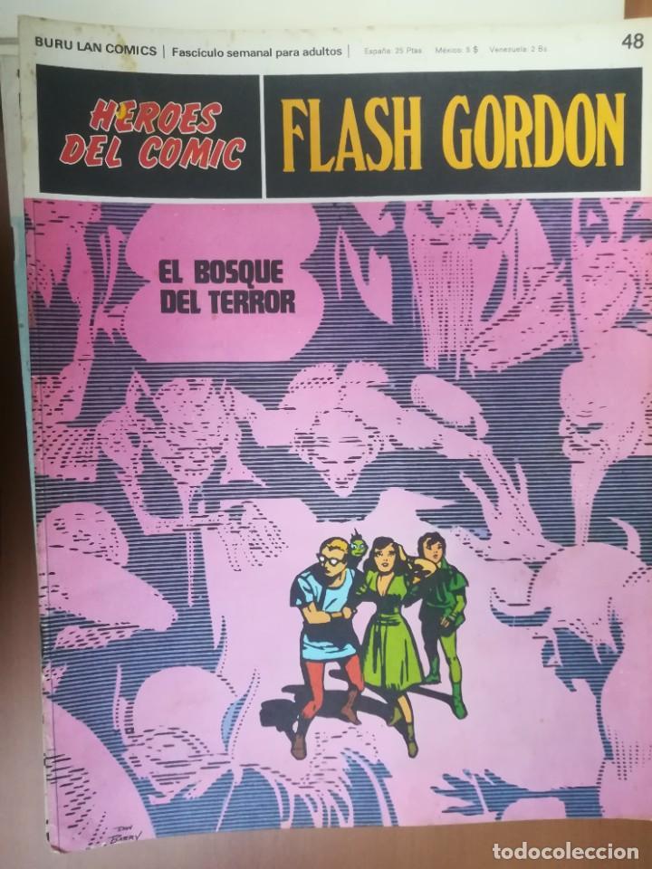 Cómics: FLASH GORDON. BURULAN. GRAN LOTE DE 104 FASCÍCULOS. - Foto 45 - 287605043