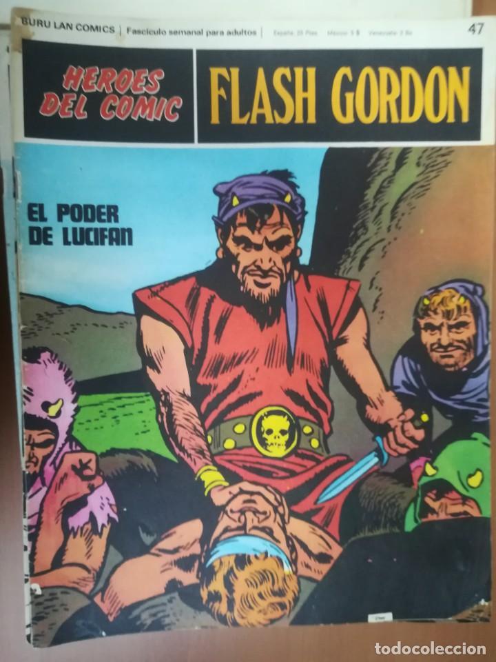 Cómics: FLASH GORDON. BURULAN. GRAN LOTE DE 104 FASCÍCULOS. - Foto 46 - 287605043