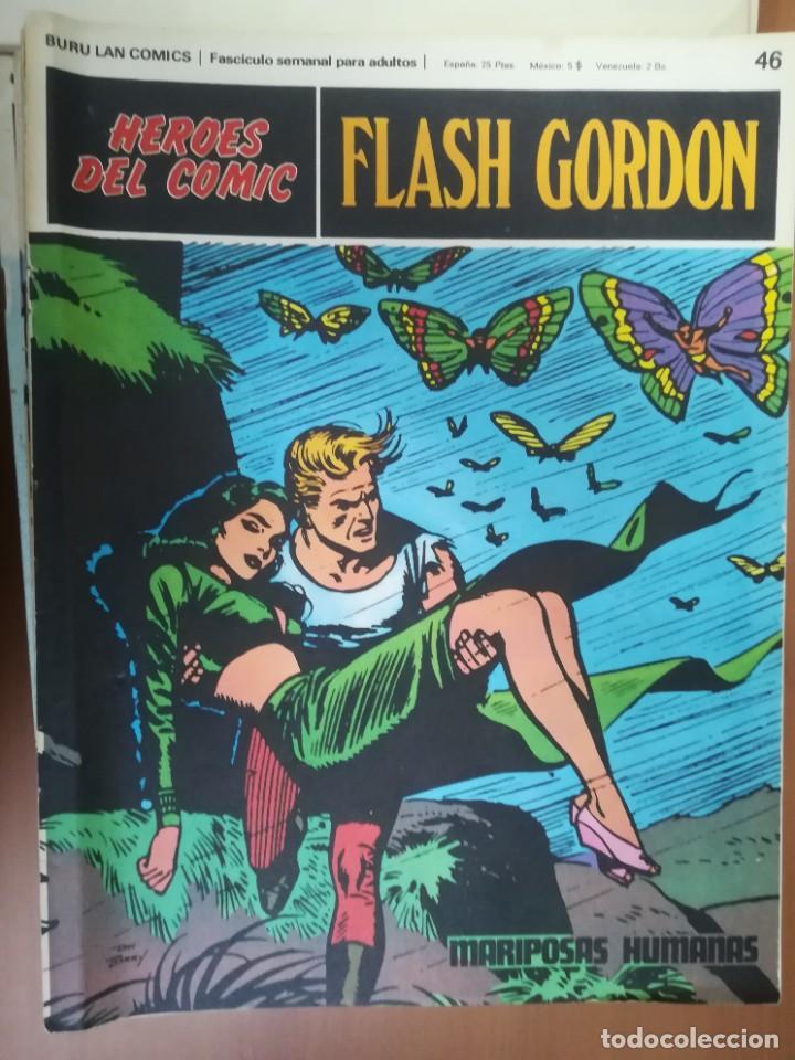 Cómics: FLASH GORDON. BURULAN. GRAN LOTE DE 104 FASCÍCULOS. - Foto 47 - 287605043