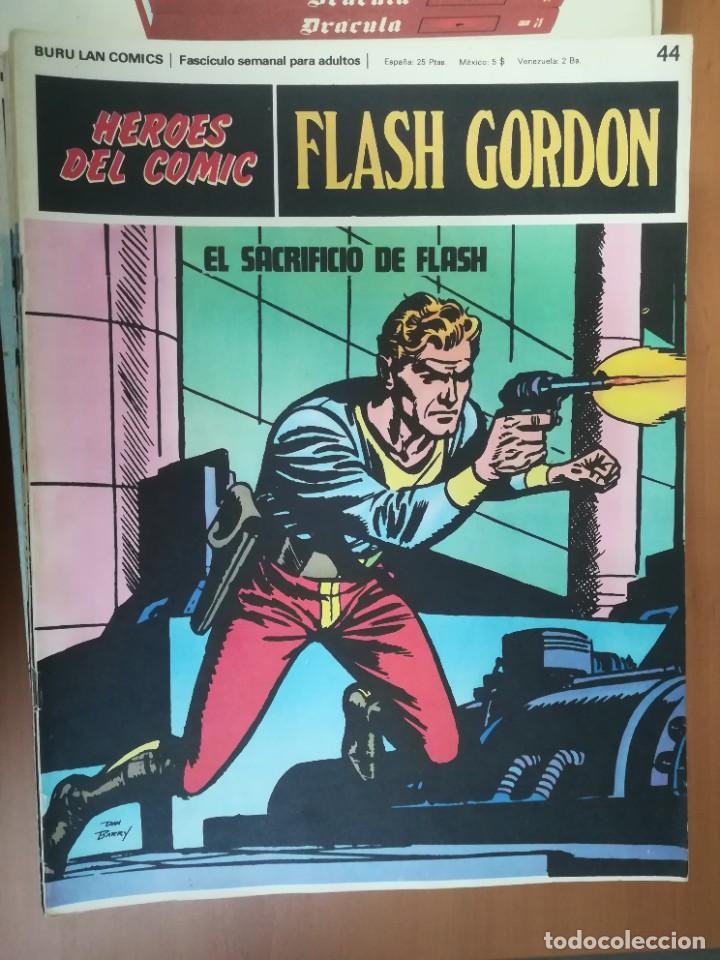 Cómics: FLASH GORDON. BURULAN. GRAN LOTE DE 104 FASCÍCULOS. - Foto 48 - 287605043