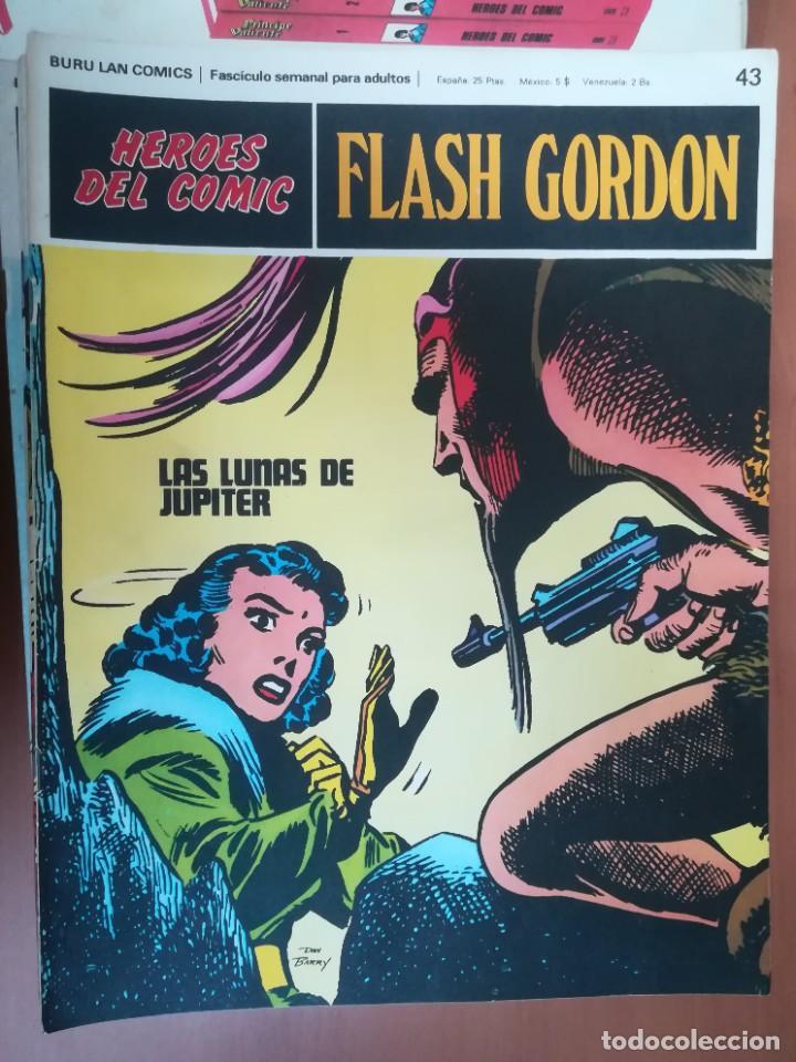 Cómics: FLASH GORDON. BURULAN. GRAN LOTE DE 104 FASCÍCULOS. - Foto 49 - 287605043