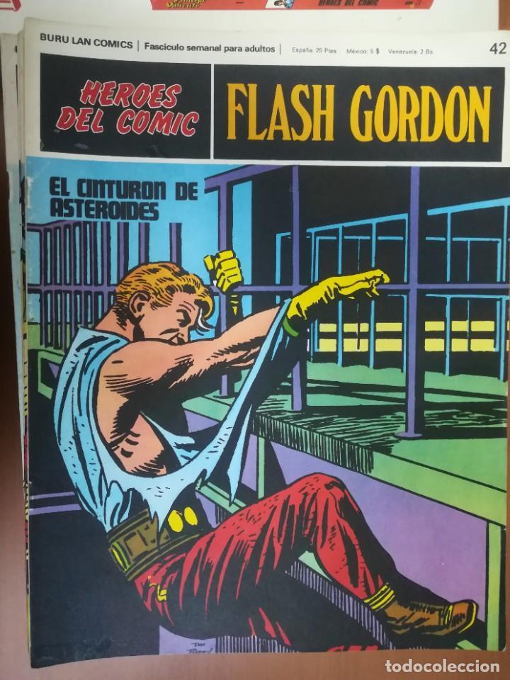 Cómics: FLASH GORDON. BURULAN. GRAN LOTE DE 104 FASCÍCULOS. - Foto 50 - 287605043