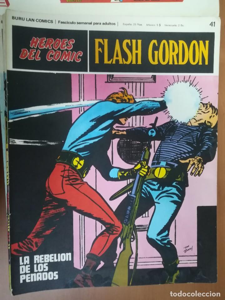 Cómics: FLASH GORDON. BURULAN. GRAN LOTE DE 104 FASCÍCULOS. - Foto 51 - 287605043