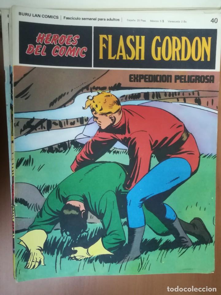 Cómics: FLASH GORDON. BURULAN. GRAN LOTE DE 104 FASCÍCULOS. - Foto 52 - 287605043