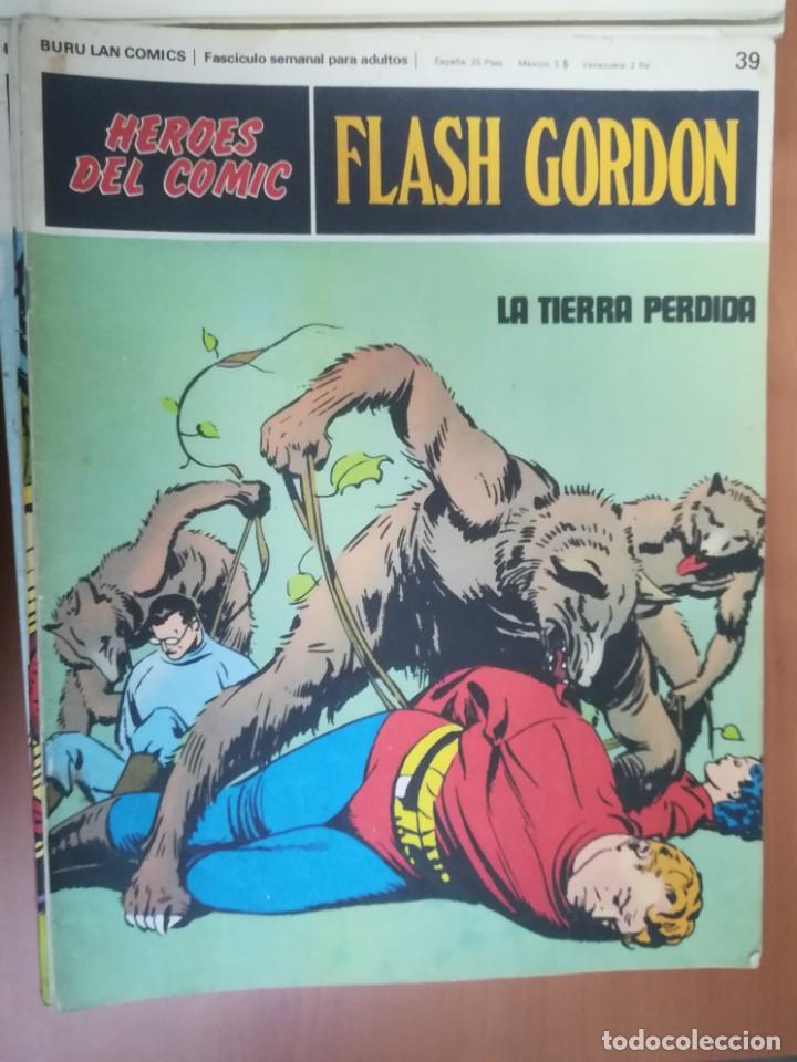 Cómics: FLASH GORDON. BURULAN. GRAN LOTE DE 104 FASCÍCULOS. - Foto 53 - 287605043