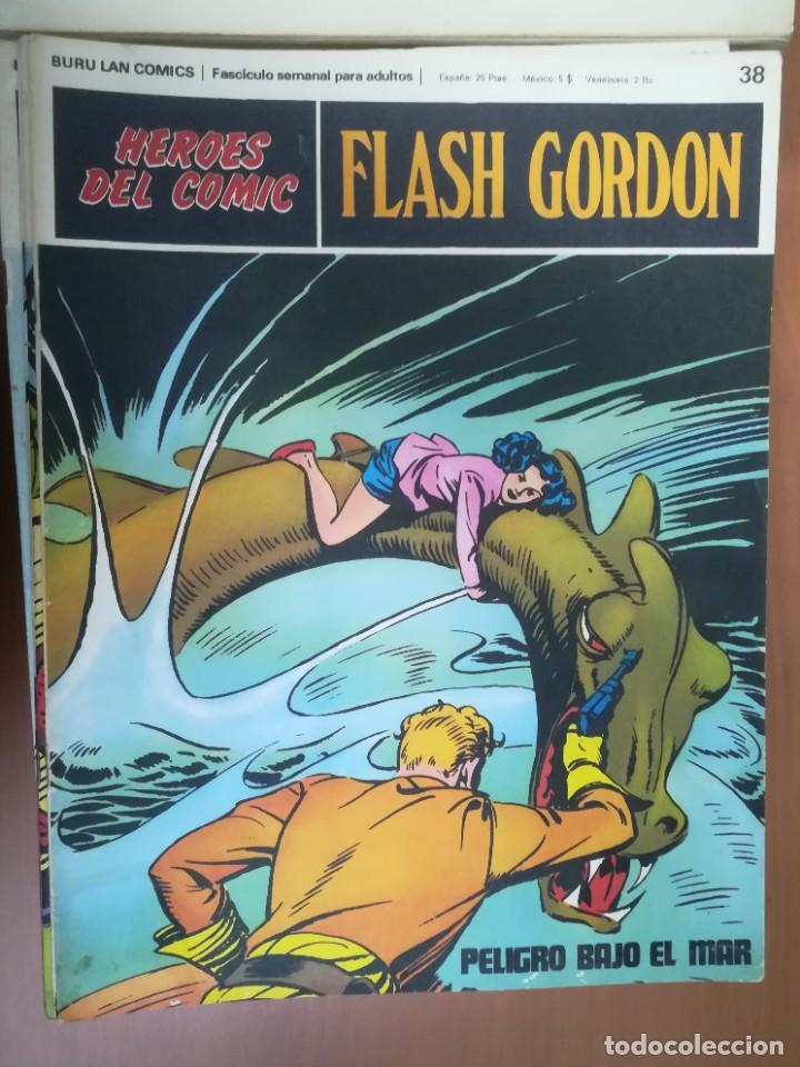 Cómics: FLASH GORDON. BURULAN. GRAN LOTE DE 104 FASCÍCULOS. - Foto 54 - 287605043
