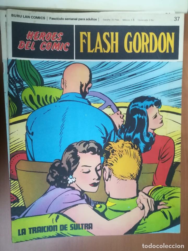 Cómics: FLASH GORDON. BURULAN. GRAN LOTE DE 104 FASCÍCULOS. - Foto 55 - 287605043