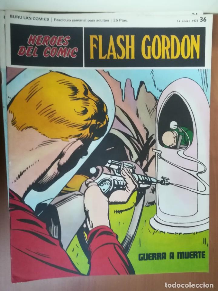 Cómics: FLASH GORDON. BURULAN. GRAN LOTE DE 104 FASCÍCULOS. - Foto 56 - 287605043