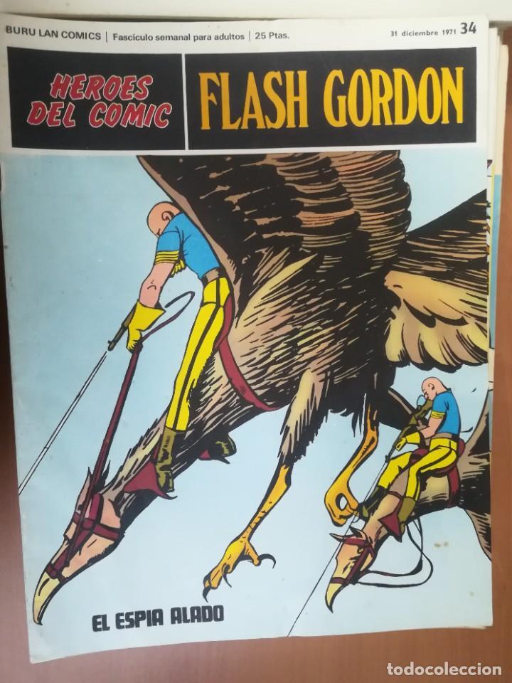 Cómics: FLASH GORDON. BURULAN. GRAN LOTE DE 104 FASCÍCULOS. - Foto 57 - 287605043