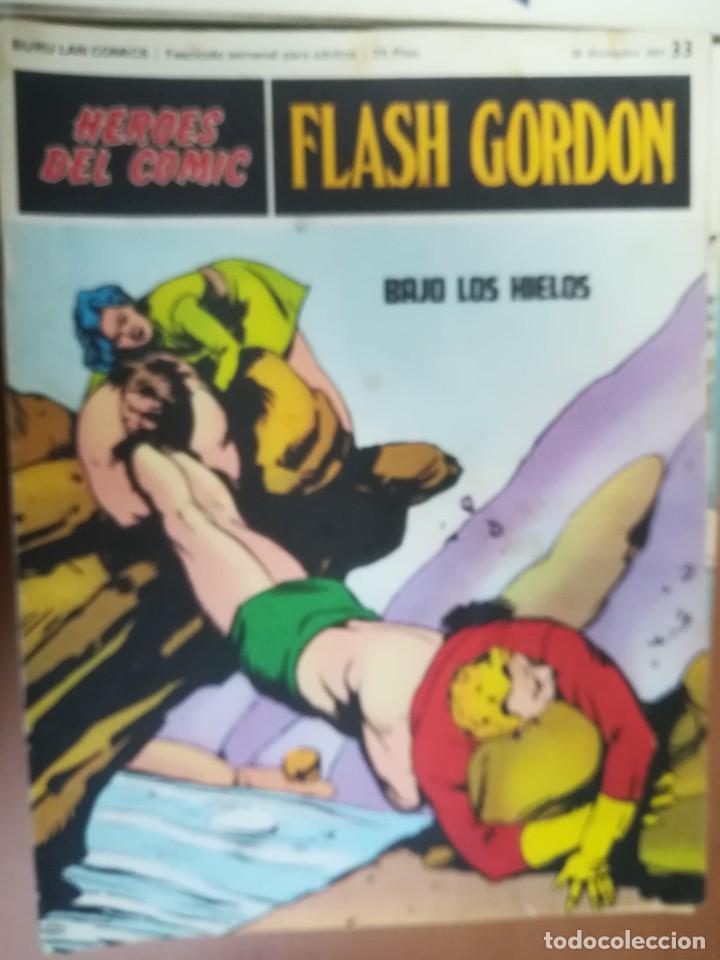 Cómics: FLASH GORDON. BURULAN. GRAN LOTE DE 104 FASCÍCULOS. - Foto 58 - 287605043