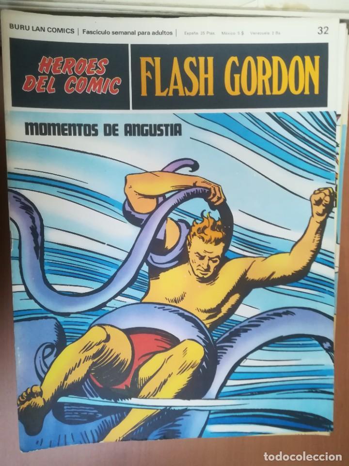 Cómics: FLASH GORDON. BURULAN. GRAN LOTE DE 104 FASCÍCULOS. - Foto 59 - 287605043