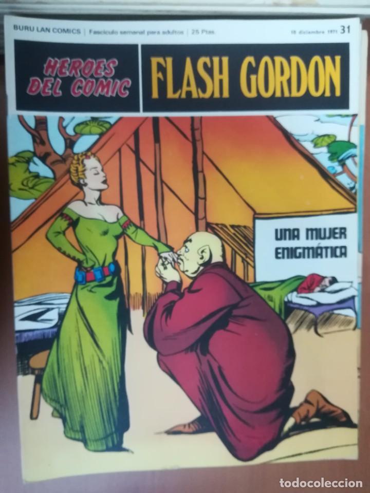 Cómics: FLASH GORDON. BURULAN. GRAN LOTE DE 104 FASCÍCULOS. - Foto 60 - 287605043