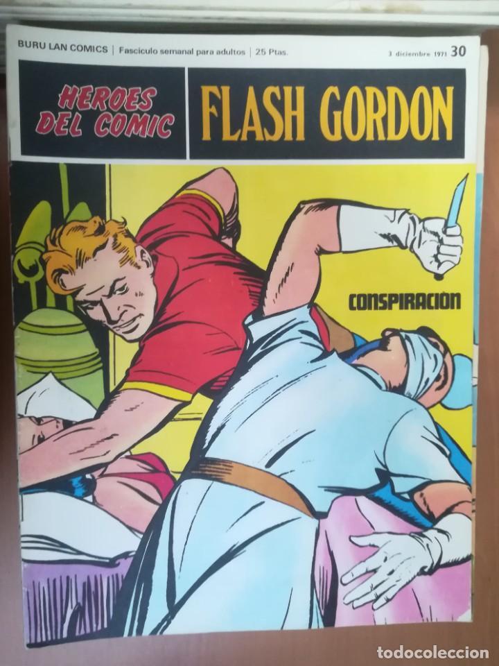 Cómics: FLASH GORDON. BURULAN. GRAN LOTE DE 104 FASCÍCULOS. - Foto 61 - 287605043