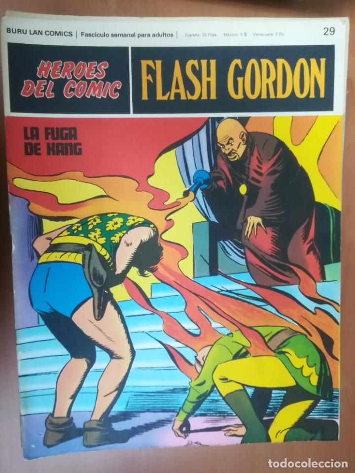Cómics: FLASH GORDON. BURULAN. GRAN LOTE DE 104 FASCÍCULOS. - Foto 62 - 287605043