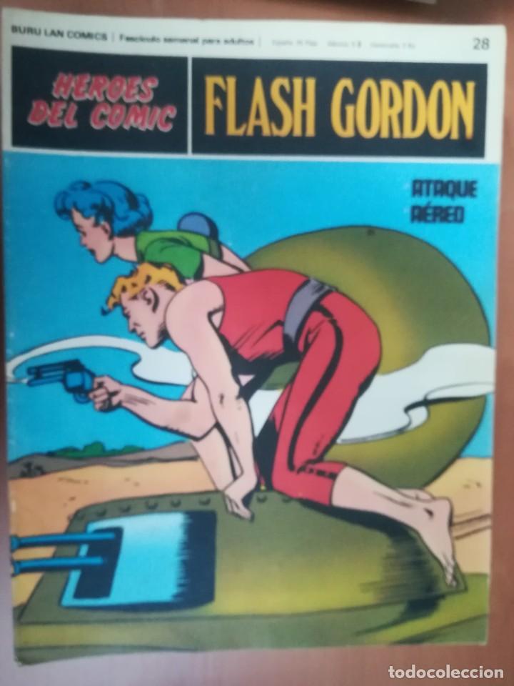 Cómics: FLASH GORDON. BURULAN. GRAN LOTE DE 104 FASCÍCULOS. - Foto 63 - 287605043