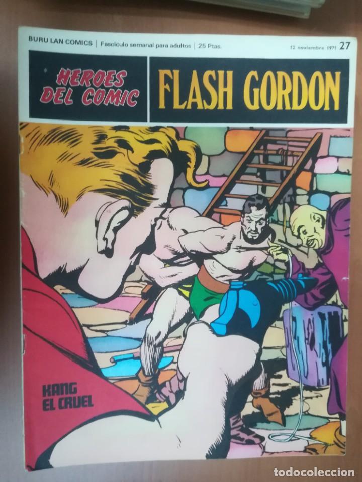 Cómics: FLASH GORDON. BURULAN. GRAN LOTE DE 104 FASCÍCULOS. - Foto 64 - 287605043