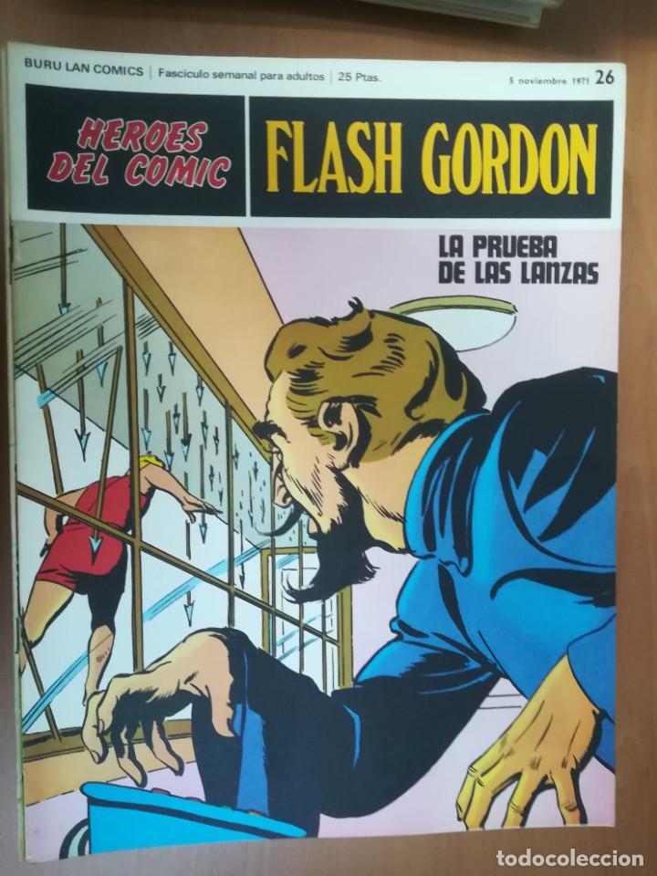 Cómics: FLASH GORDON. BURULAN. GRAN LOTE DE 104 FASCÍCULOS. - Foto 65 - 287605043