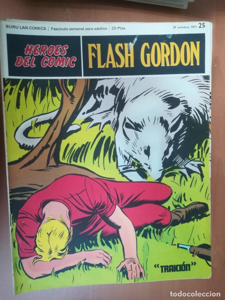 Cómics: FLASH GORDON. BURULAN. GRAN LOTE DE 104 FASCÍCULOS. - Foto 66 - 287605043