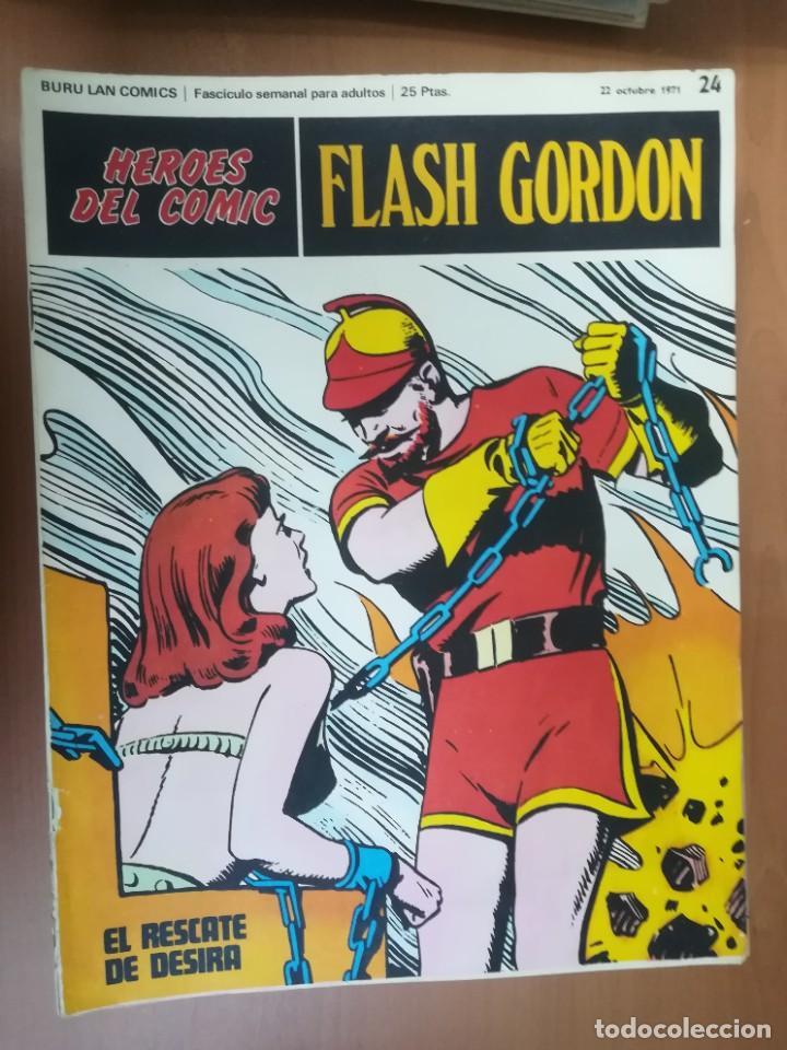 Cómics: FLASH GORDON. BURULAN. GRAN LOTE DE 104 FASCÍCULOS. - Foto 67 - 287605043