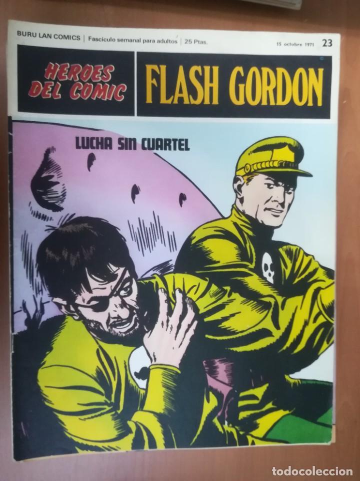 Cómics: FLASH GORDON. BURULAN. GRAN LOTE DE 104 FASCÍCULOS. - Foto 68 - 287605043