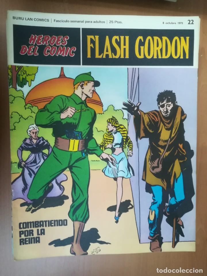 Cómics: FLASH GORDON. BURULAN. GRAN LOTE DE 104 FASCÍCULOS. - Foto 69 - 287605043