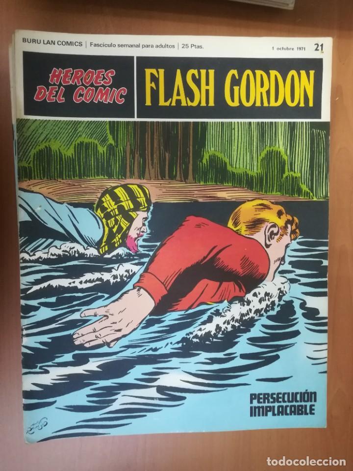 Cómics: FLASH GORDON. BURULAN. GRAN LOTE DE 104 FASCÍCULOS. - Foto 70 - 287605043