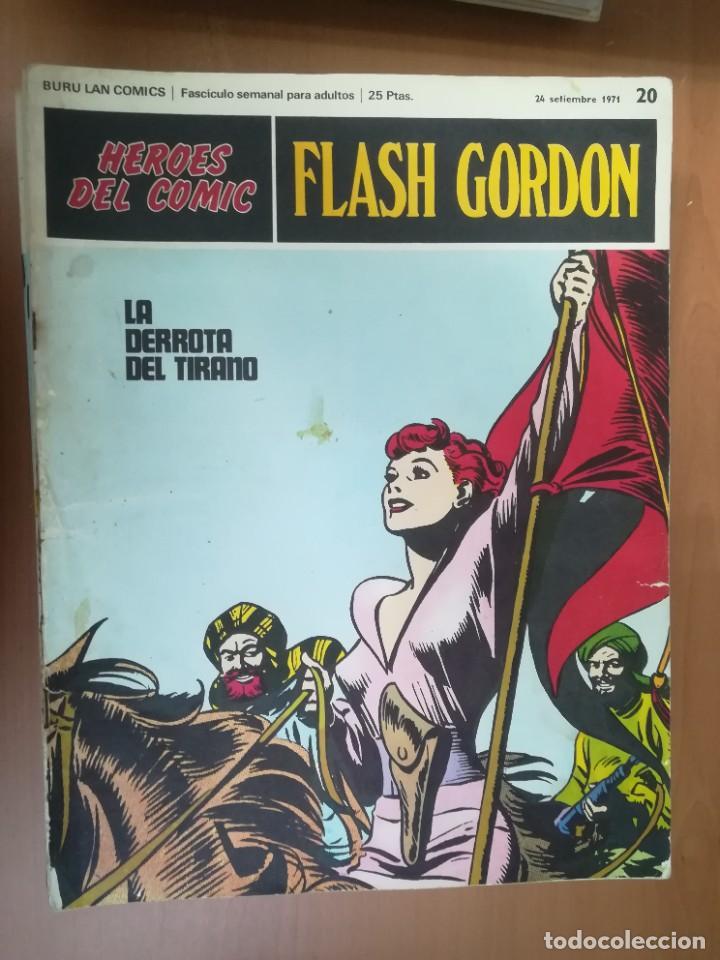 Cómics: FLASH GORDON. BURULAN. GRAN LOTE DE 104 FASCÍCULOS. - Foto 71 - 287605043