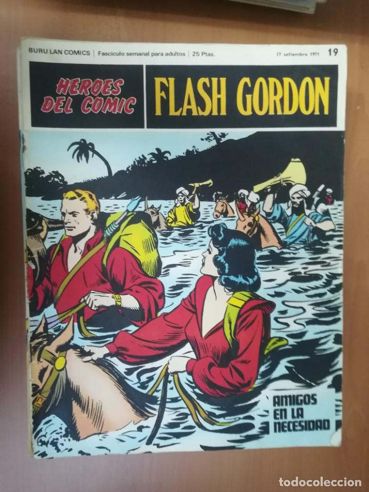 Cómics: FLASH GORDON. BURULAN. GRAN LOTE DE 104 FASCÍCULOS. - Foto 72 - 287605043