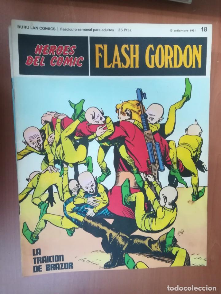 Cómics: FLASH GORDON. BURULAN. GRAN LOTE DE 104 FASCÍCULOS. - Foto 73 - 287605043