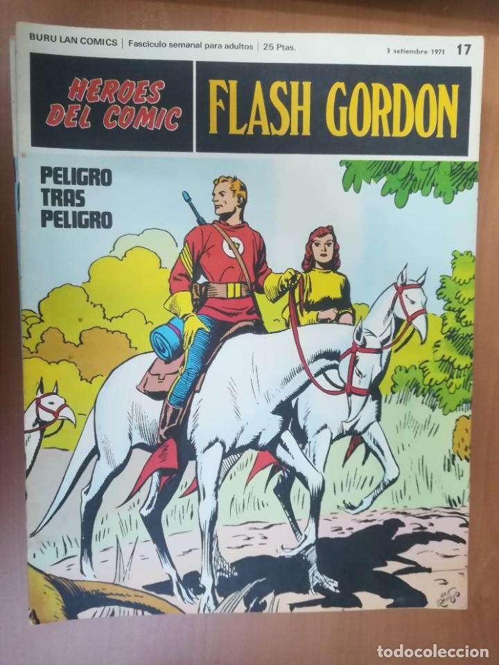 Cómics: FLASH GORDON. BURULAN. GRAN LOTE DE 104 FASCÍCULOS. - Foto 74 - 287605043