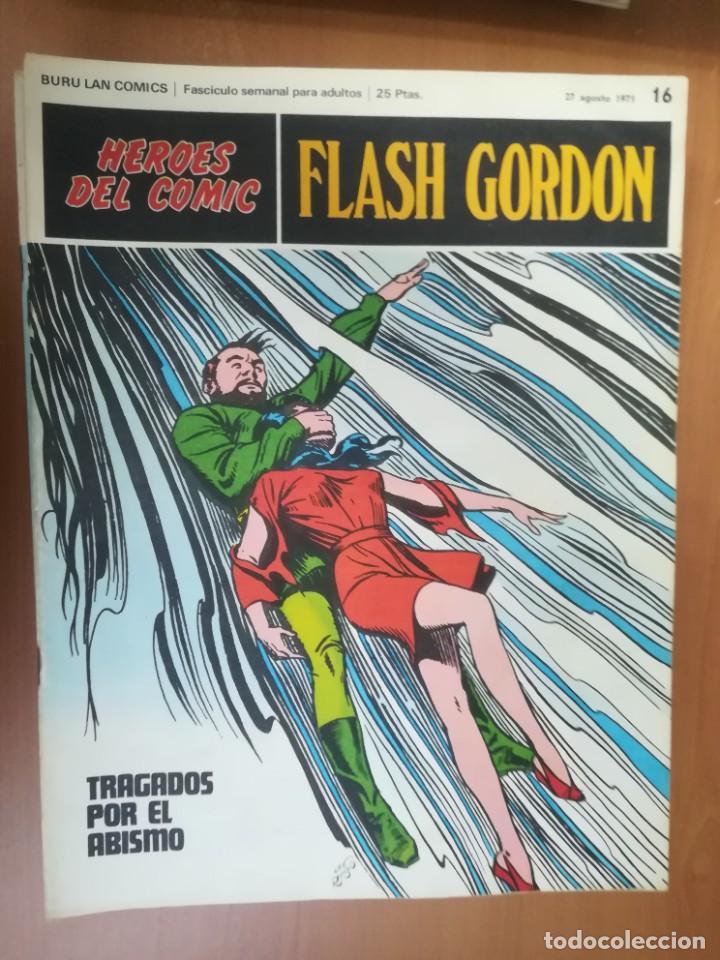 Cómics: FLASH GORDON. BURULAN. GRAN LOTE DE 104 FASCÍCULOS. - Foto 75 - 287605043