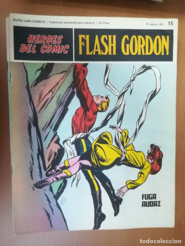 Cómics: FLASH GORDON. BURULAN. GRAN LOTE DE 104 FASCÍCULOS. - Foto 76 - 287605043