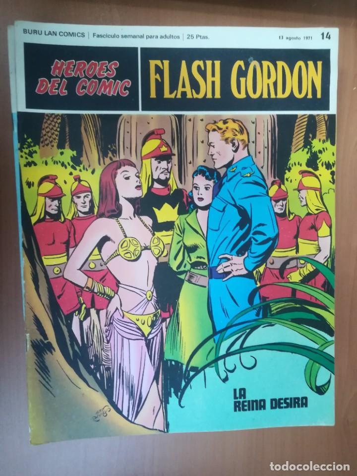 Cómics: FLASH GORDON. BURULAN. GRAN LOTE DE 104 FASCÍCULOS. - Foto 77 - 287605043