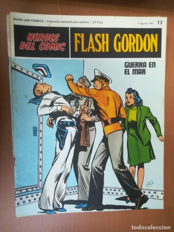 Cómics: FLASH GORDON. BURULAN. GRAN LOTE DE 104 FASCÍCULOS. - Foto 78 - 287605043