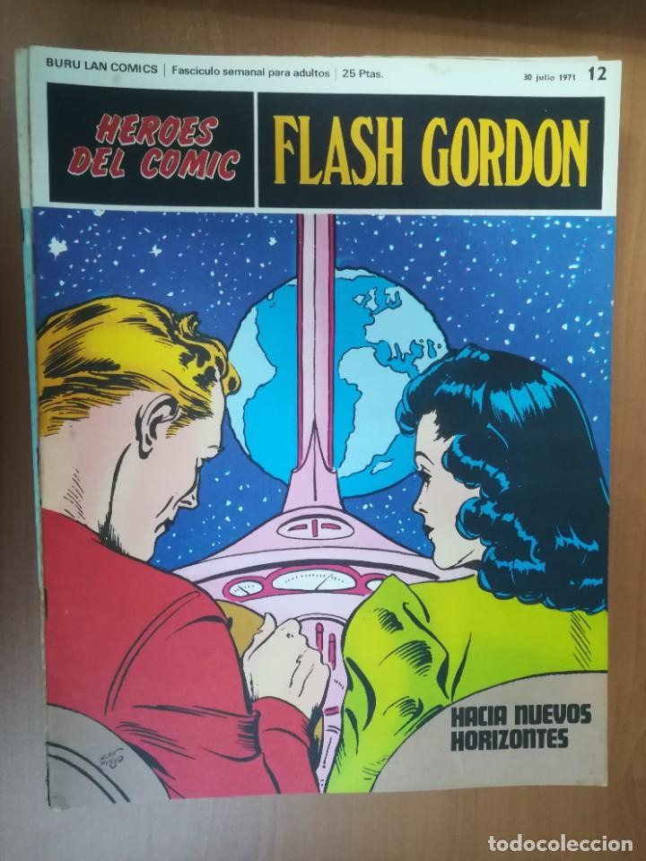 Cómics: FLASH GORDON. BURULAN. GRAN LOTE DE 104 FASCÍCULOS. - Foto 79 - 287605043