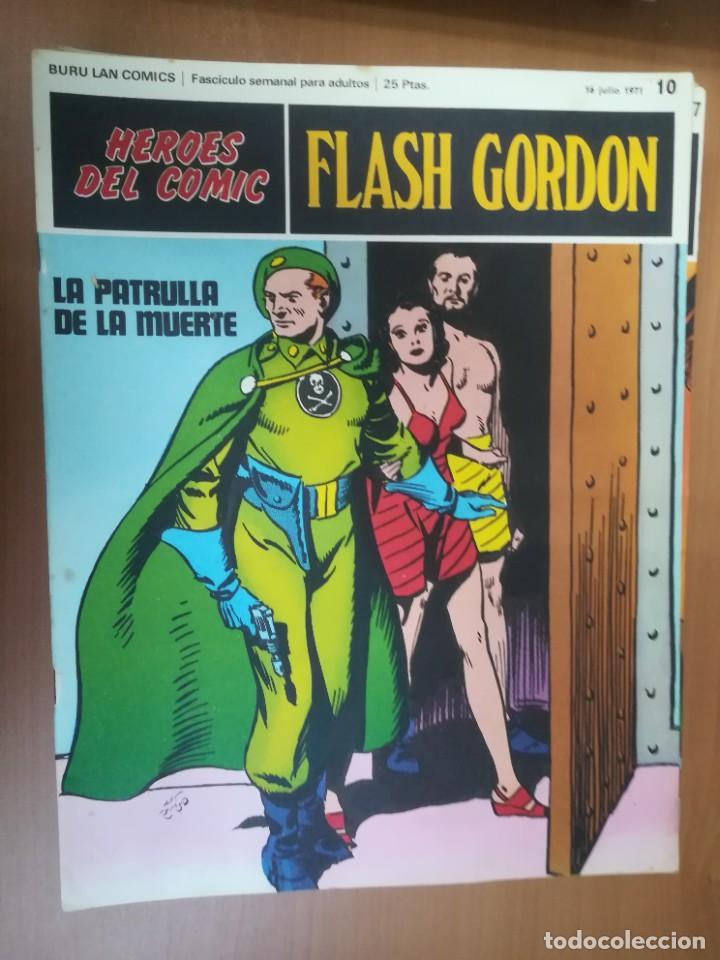 Cómics: FLASH GORDON. BURULAN. GRAN LOTE DE 104 FASCÍCULOS. - Foto 81 - 287605043
