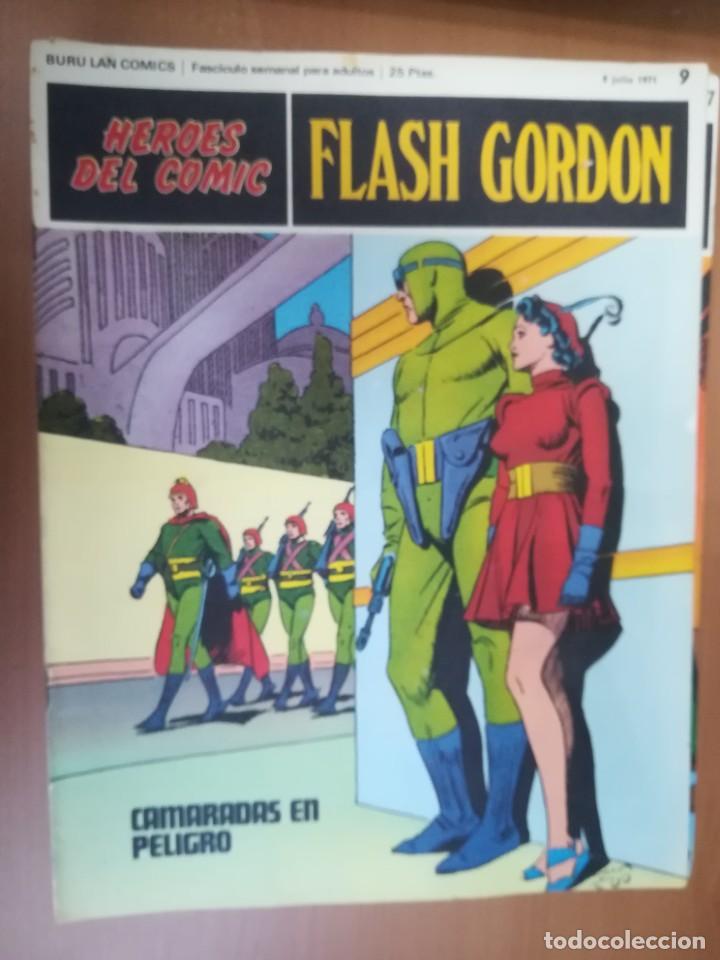 Cómics: FLASH GORDON. BURULAN. GRAN LOTE DE 104 FASCÍCULOS. - Foto 82 - 287605043
