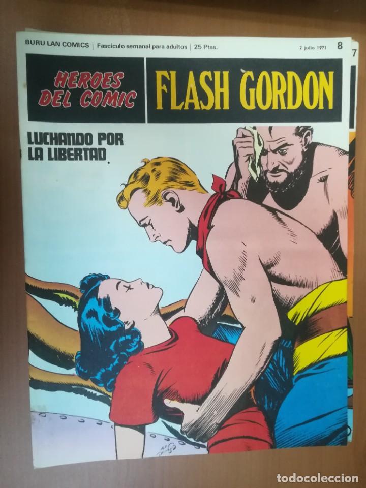 Cómics: FLASH GORDON. BURULAN. GRAN LOTE DE 104 FASCÍCULOS. - Foto 83 - 287605043