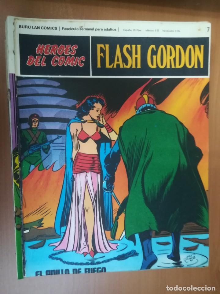 Cómics: FLASH GORDON. BURULAN. GRAN LOTE DE 104 FASCÍCULOS. - Foto 84 - 287605043