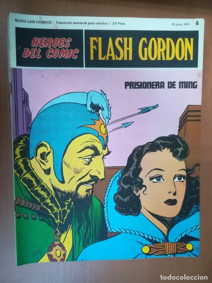 Cómics: FLASH GORDON. BURULAN. GRAN LOTE DE 104 FASCÍCULOS. - Foto 85 - 287605043