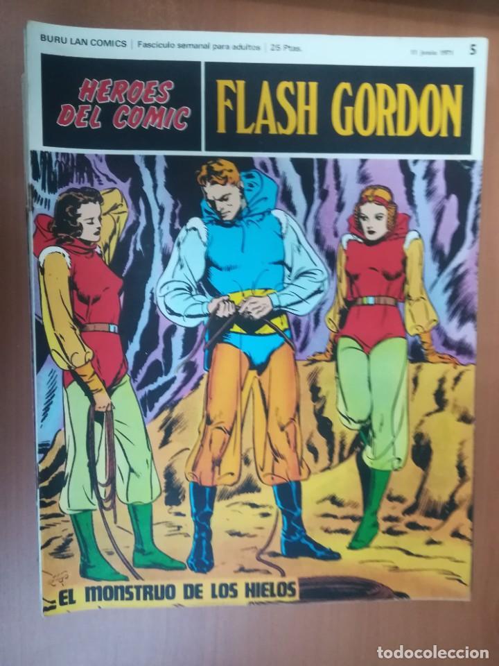 Cómics: FLASH GORDON. BURULAN. GRAN LOTE DE 104 FASCÍCULOS. - Foto 86 - 287605043
