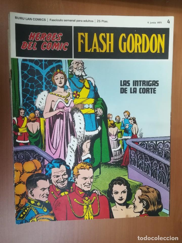 Cómics: FLASH GORDON. BURULAN. GRAN LOTE DE 104 FASCÍCULOS. - Foto 87 - 287605043