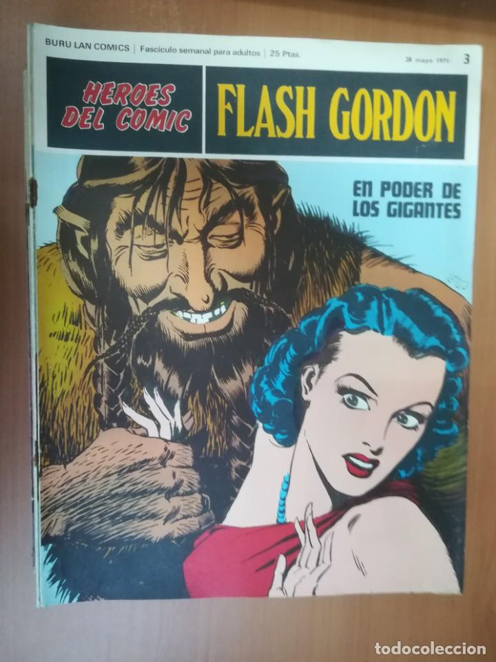 Cómics: FLASH GORDON. BURULAN. GRAN LOTE DE 104 FASCÍCULOS. - Foto 88 - 287605043