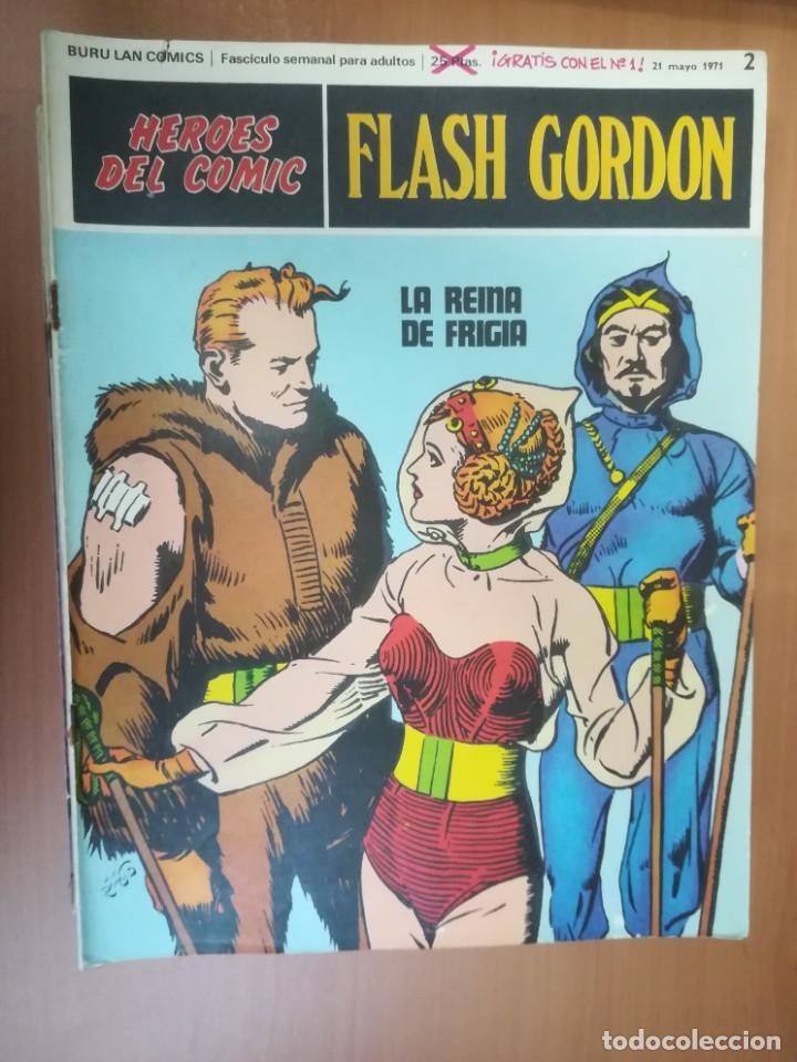 Cómics: FLASH GORDON. BURULAN. GRAN LOTE DE 104 FASCÍCULOS. - Foto 89 - 287605043