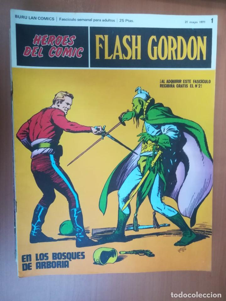 Cómics: FLASH GORDON. BURULAN. GRAN LOTE DE 104 FASCÍCULOS. - Foto 90 - 287605043