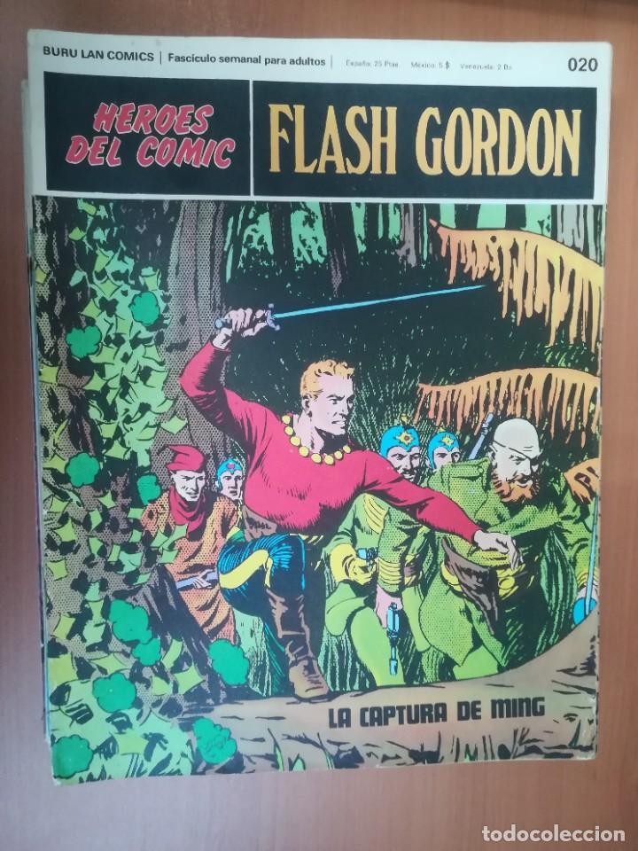Cómics: FLASH GORDON. BURULAN. GRAN LOTE DE 104 FASCÍCULOS. - Foto 91 - 287605043