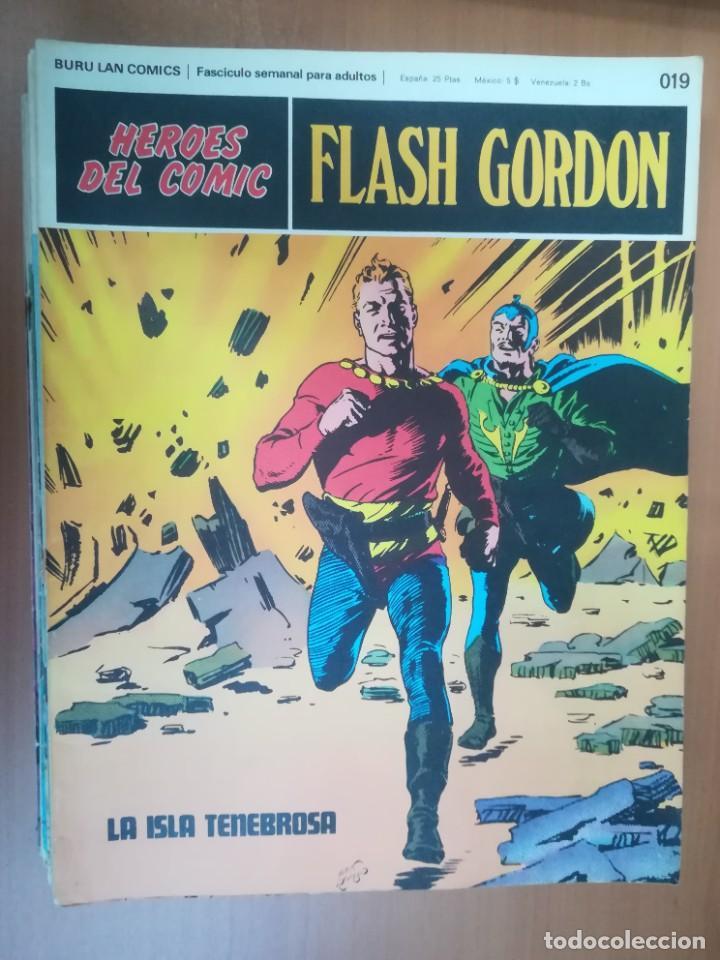 Cómics: FLASH GORDON. BURULAN. GRAN LOTE DE 104 FASCÍCULOS. - Foto 92 - 287605043