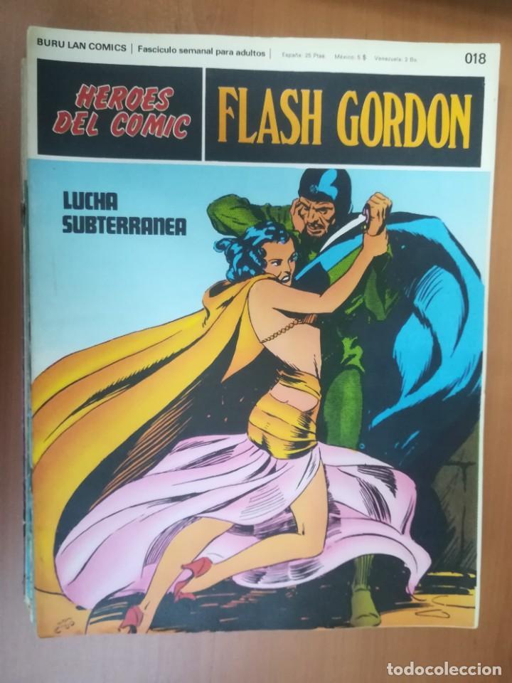 Cómics: FLASH GORDON. BURULAN. GRAN LOTE DE 104 FASCÍCULOS. - Foto 93 - 287605043